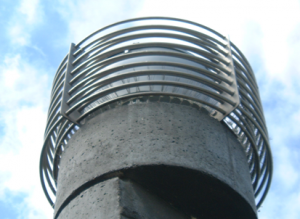 light pole at water center